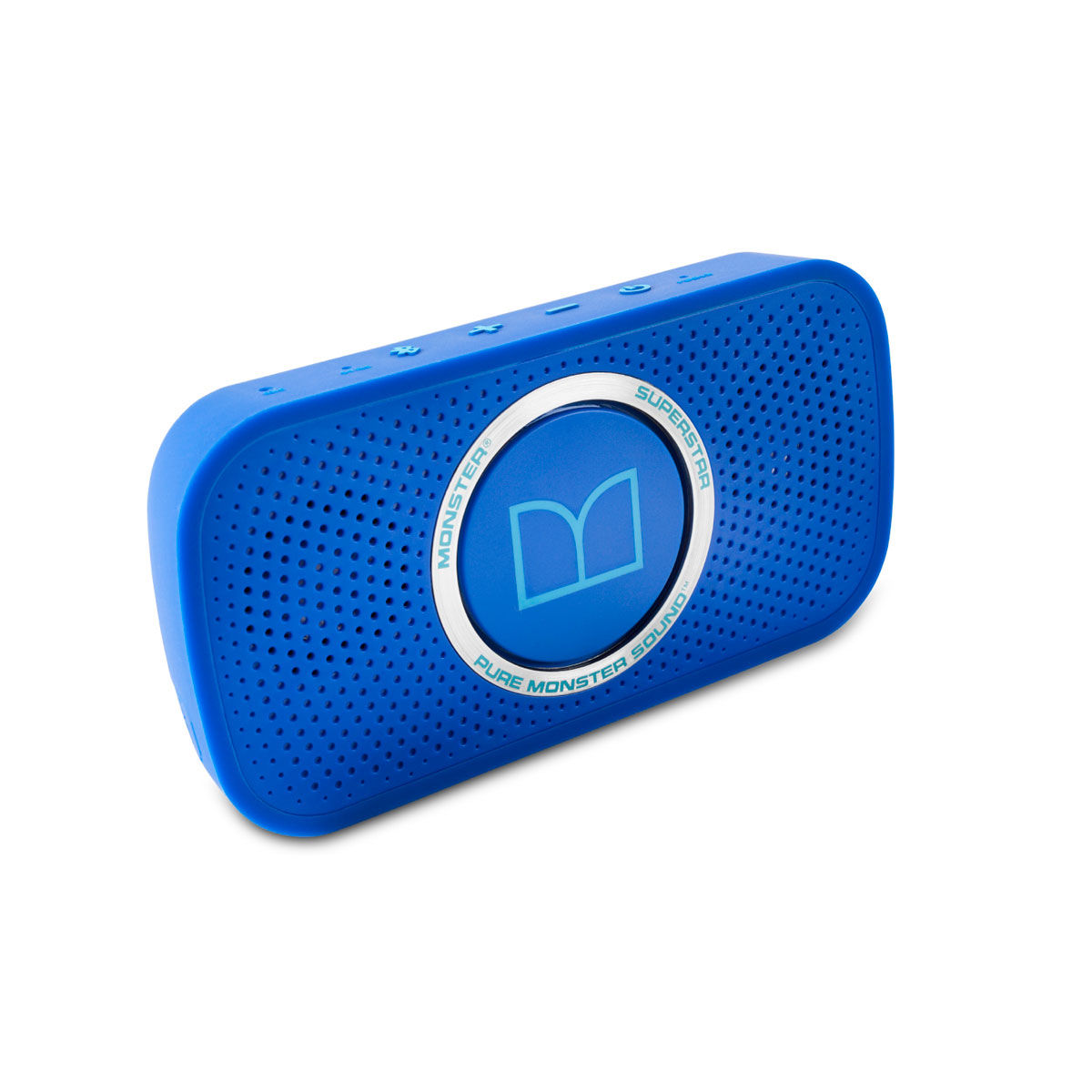 Monster Power Superstar High Definition Bluetooth Speaker Blue