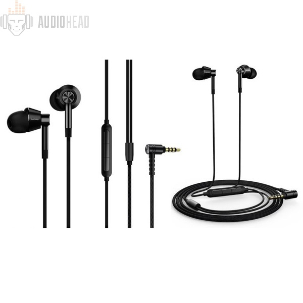 Xiaomi 1More E1017 Dual Driver In-Ear Headphones Black