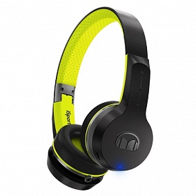 Monster iSport Freedom V2 On-Ear Bluetooth Black Green