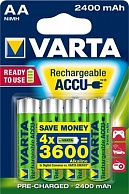 Varta Ready To Use AA 2400 mAh (4 шт)